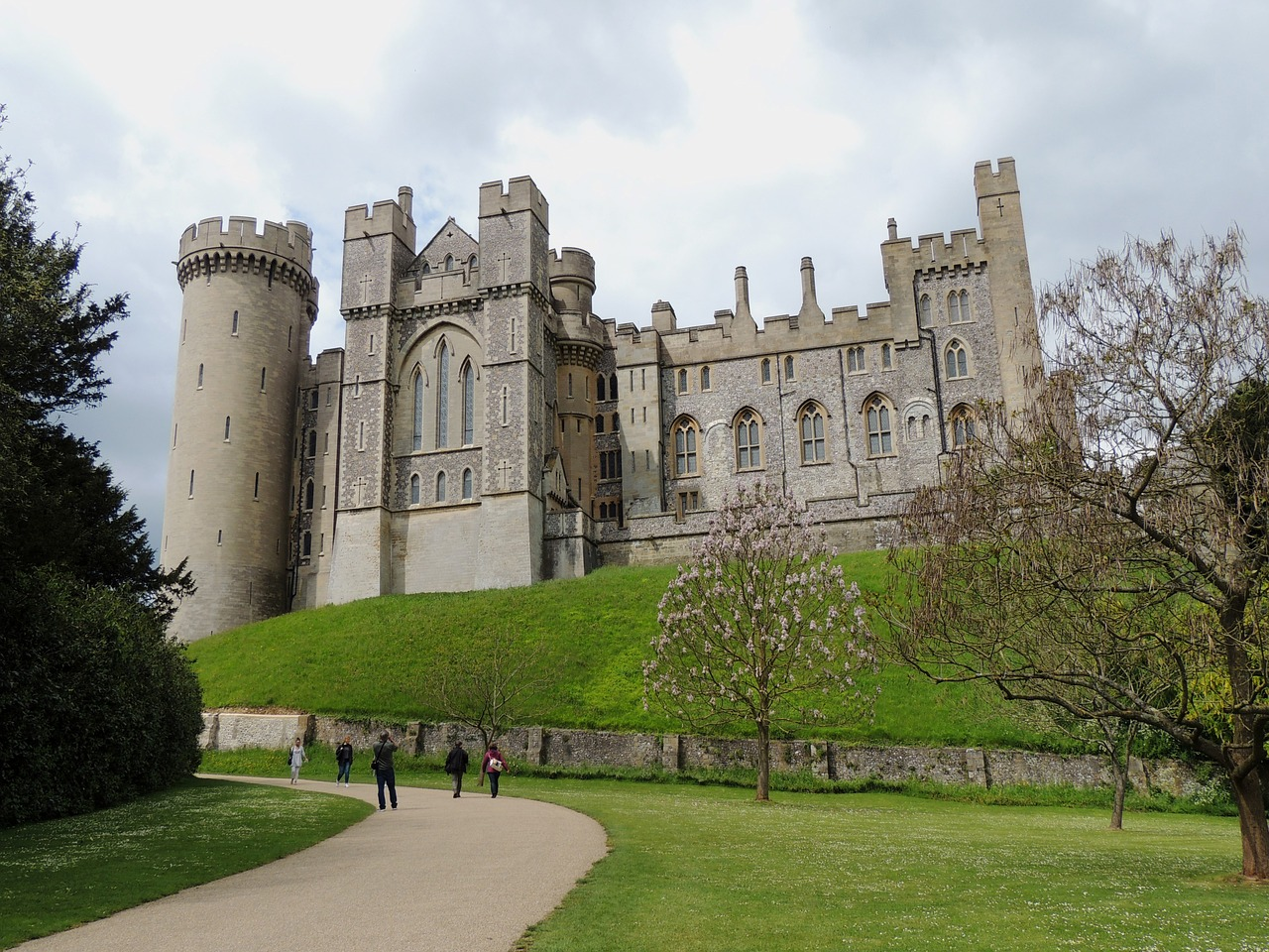View Of Arundel Castle From The South Side
